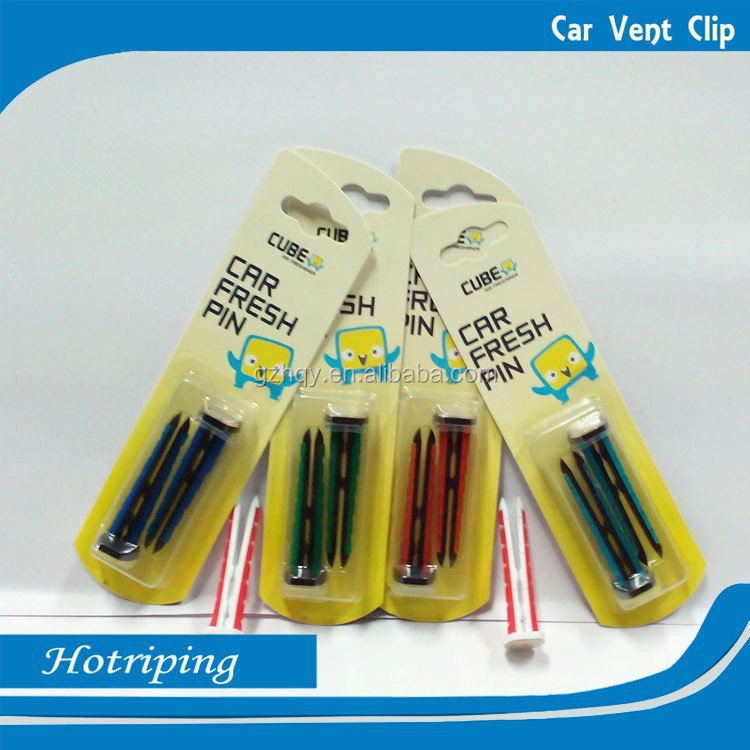 Perfume air refreshing car air freshener aroma vent clips
