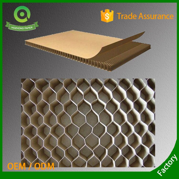 wholesale waterproof honeycomb paper board/Recycled corrugated cardboard