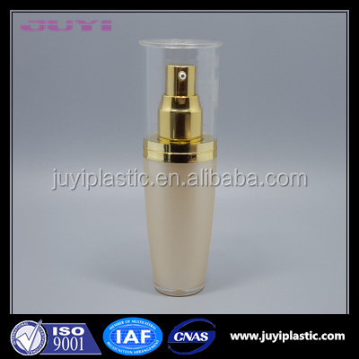 Mushroom Shape Plastic Acrylic Lotion Bottle Cosmetic Packaging ,Hot Sale Acrylic Cosmeitc Bottles For Skin Care