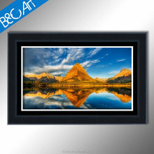 S(72012) wonderful autumn mountain forest blue sky scenery canvas prints