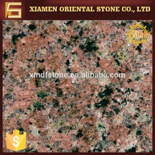 Guangze red granite slab for top desks center table wall stone design