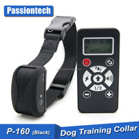 2016 waterproof chargeable pet electric shock peted remote dog training collar