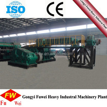 Double Stage Vacuum Extruder, Hollow Clay Brick Making Machine