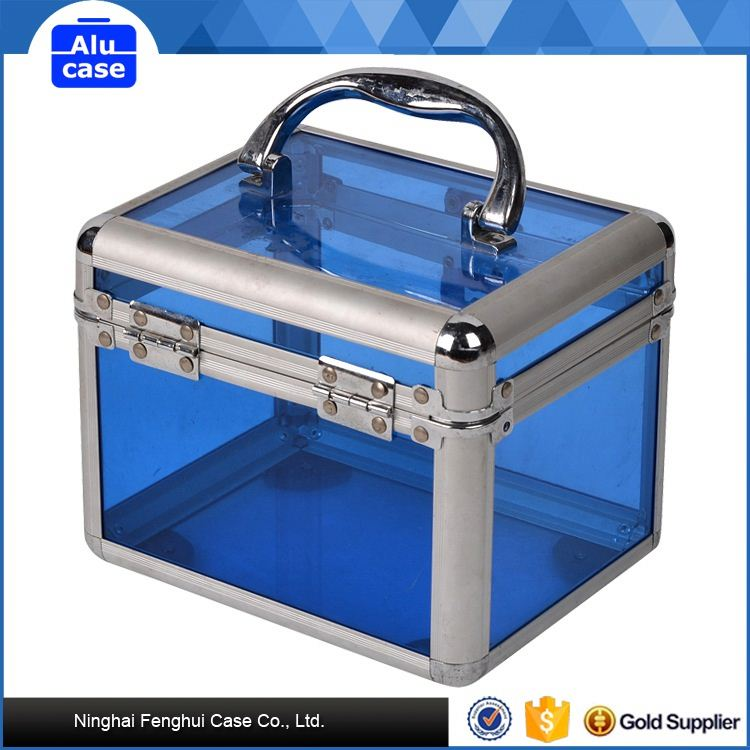 Best price factory supply aluminum cosmetic case mini beauty case vanity case
