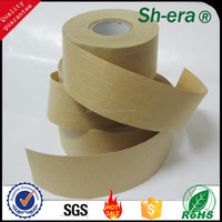 self adhesive carton sealing kraft paper tape mde in china