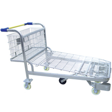 hot sale CE certificate warehouse folding hand cargo trolley JS-TWT02