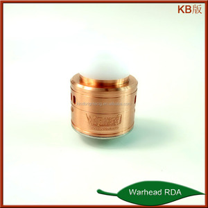 2018most popular atomizer!!!warhead rda/g.r.1 rda/ghoul rda China import for wholesale