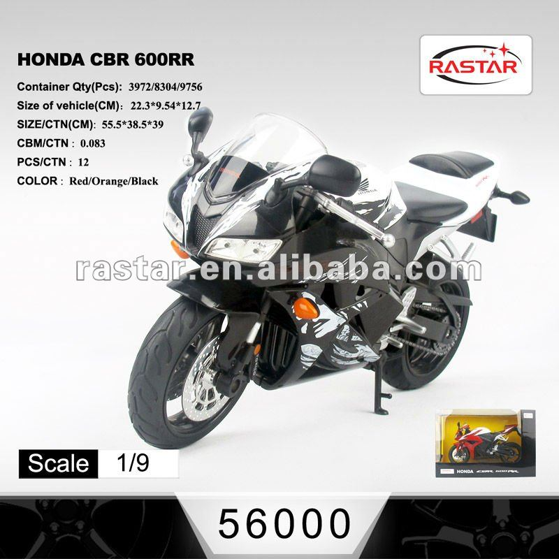 1:9 Honda CBR 600RR Die cast Motorcycle Model (56000)