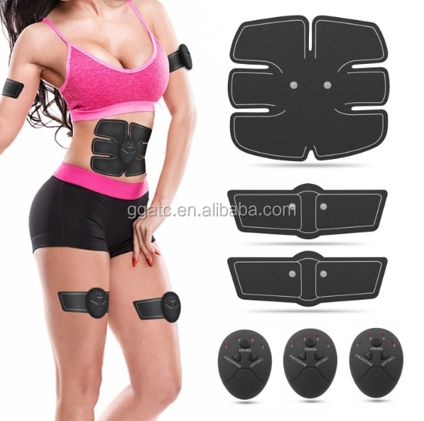 GOGO-Hot Sell Products ! abs stimulator For Abdomen/Arm/Leg Support for Men and Women electric muscle stimulator