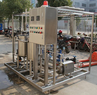 milk sterilizing machine ICE CREAM PLATE UHT Sterilizer industrial sterilization