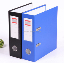 A4 hard cover file folder plastic paper lever arch file folder for office & school