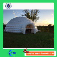 Aomiao guangzhou factory inflatable tent structure, big party tent/inflatable tent, inflatable pub tent