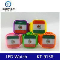 plastic led watch led wrist watch for kids cheap led watch