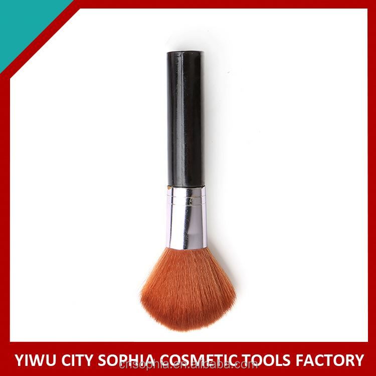 Manufacturer supply hot sale attractive style oval powder foundation brush cosmetic in many style