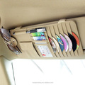car sun visor organizer Sun Visor Storage Bag Pouch CD Receive Bag DVD Disk Card Visor Case