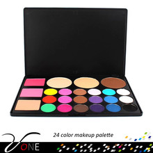 24 color makeup forever cosmetics,lady cosmetic eyeshadow full set