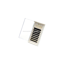 Wholesale professional ellipse <strong>flat</strong> individual eyelash extension/private label mixed false eyelash extension trays