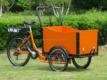 2015 best seller cheap electric dutch cargo bike for toddlers