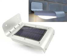 STAINLESS LED SOLAR SECURITY WALL LIGHT, SPOTLIGHT, PIR SENSOR OUTDOOR GARDEN LAMP