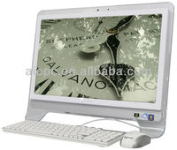 19 inch 3G/wifi lcd all in one touchscreen pc white