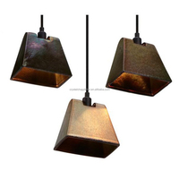 Lustre Shade Wedge Pendant Lamp Suspension