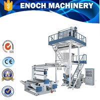 Double-layer Co-extruding Film Blowing Machine /Making Bag Machine PP PE