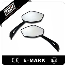 Cheap Black Diamond Motorcycle Mirrors with E-mark