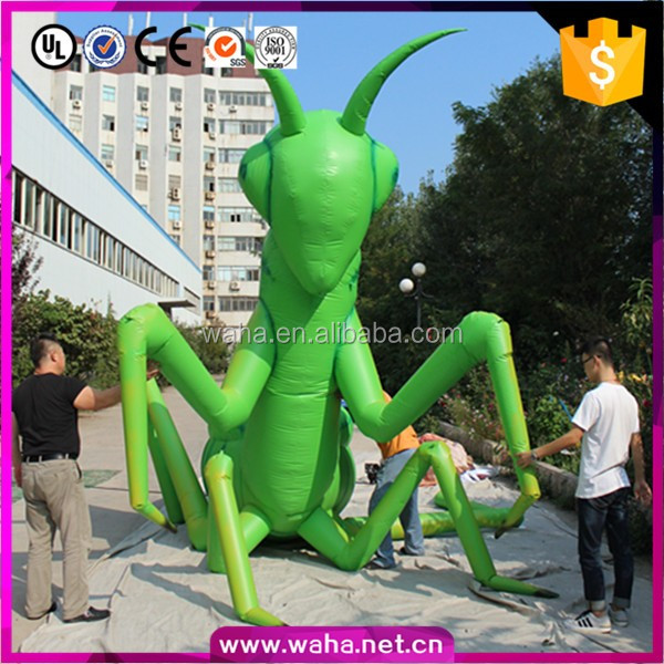 promotion event party club Christmas decorations wedding inflatable mantis cartoon