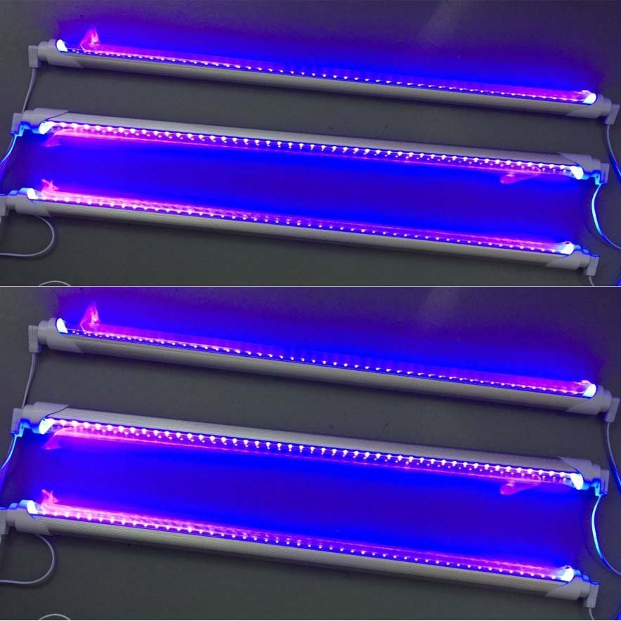 Greeenrgy Manufacturer 2018 Aliexpress 60cm 9W AC85-265V T8 Tube LED UV Black ultraviolet uv light