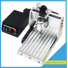 hot sale USB type cnc router 4 axis 800W for wood / pvc working 3040 with good quality