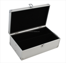 Aluminum tool box high quality cd case dvd storage case