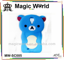 newest animal shaped silicone phone case for iphone 5