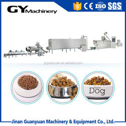 Low cost and good sell cat dog fish food machine in Jinan