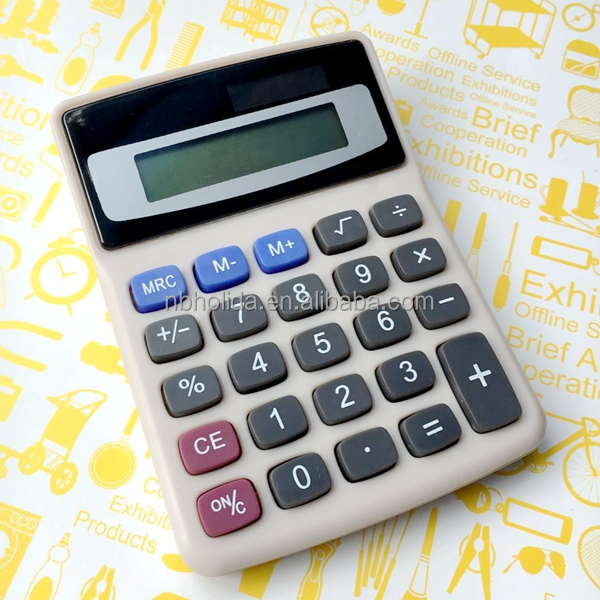 Promotional small desktop calculator business calculator