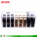 Wholesale modern clear acrylic cosmetic lipstick case