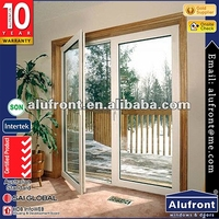 European style french door/Aluminium double glazed windows and doors comply with Australian standards