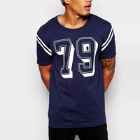 factory direct man sporty dri fit t shirt with number