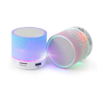 GuangDong subwoofer speakers with LED wholesale cheap wireless loudspeakers mini portable speaker