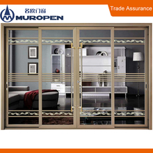 Energy saving Muropen brand commercial automatic drawing room sliding door