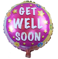 18'' GET WELL SOON Aluminium Foil Balloon