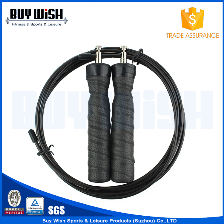 Jump Rope Adjustable High Speed Cable, Ball Bearings & Anti-Slip Handles