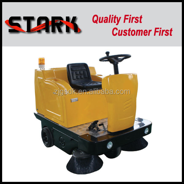 1360 garbage can cleaning truck, road sweeper machine
