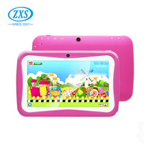 Alibaba.com children's tablet 7 inch dual core kids game Cartoon tablets ZXS-C2