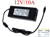 Top Quality! 12V/10A Power Supply, 120W Switching Power Adapter, SMPS, 12V LED Driver