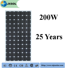 Mono 200watt solar panels of good quality home solar systems