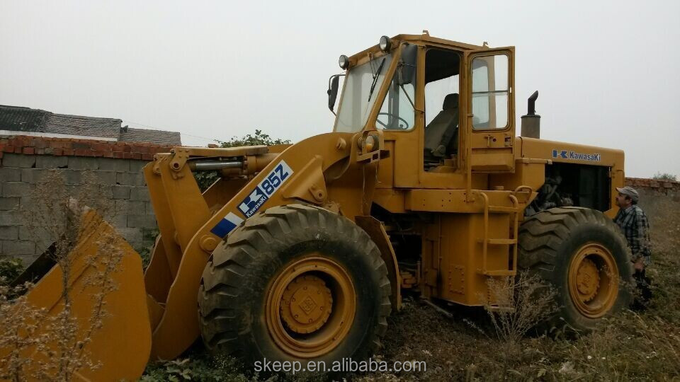 Kawasaki Used Wheel Loader 85Z For Sale , Big Loader from Japan