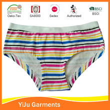 Popular basic normal daily wears kids girls panting child cotton thong underwear