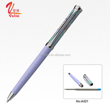 Free Design OEM Company or Personal Name Printed Pen Heat Transfer Printing Ball Pen
