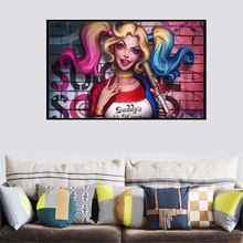 Single Piece Modern Abstract Canvas Art Sexy Women Picture Wall Decor Canvas Painting canvas