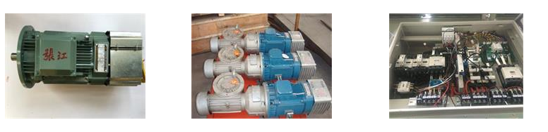Electric Asynchronous Torque Slewing Motor With Adjustable Speed for Tower Crane